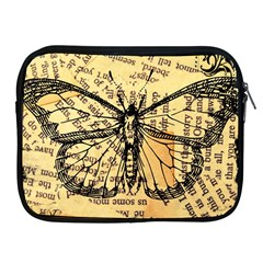 Vintage Butterfly Art Antique Apple Ipad 2/3/4 Zipper Cases by AnjaniArt