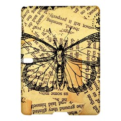 Vintage Butterfly Art Antique Samsung Galaxy Tab S (10 5 ) Hardshell Case  by AnjaniArt