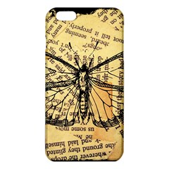 Vintage Butterfly Art Antique Iphone 6 Plus/6s Plus Tpu Case by AnjaniArt