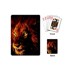 King Lion Wallpaper Animals Playing Cards (mini)