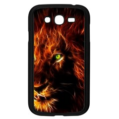 King Lion Wallpaper Animals Samsung Galaxy Grand Duos I9082 Case (black)