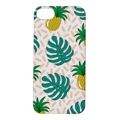 Green Leaf Fruite Pineapples Apple Iphone 5s/ Se Hardshell Case