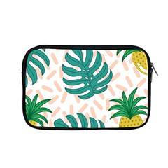 Green Leaf Fruite Pineapples Apple Macbook Pro 13  Zipper Case