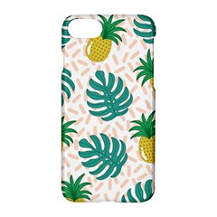 Green Leaf Fruite Pineapples Apple Iphone 8 Hardshell Case by AnjaniArt