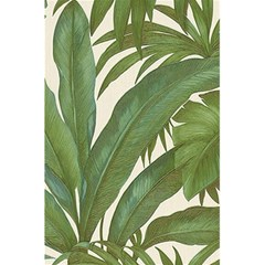 Green Palm Leaf Wallpaper 5 5  X 8 5  Notebook by AnjaniArt
