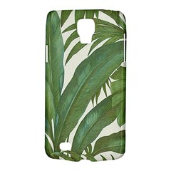 Green Palm Leaf Wallpaper Samsung Galaxy S4 Active (i9295) Hardshell Case