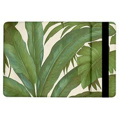 Green Palm Leaf Wallpaper Ipad Air Flip by AnjaniArt