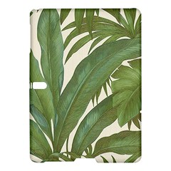 Green Palm Leaf Wallpaper Samsung Galaxy Tab S (10 5 ) Hardshell Case  by AnjaniArt