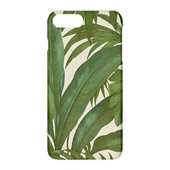 Green Palm Leaf Wallpaper Apple Iphone 8 Plus Hardshell Case