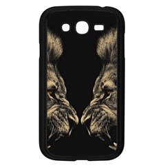 King Abstract Lion Painting Samsung Galaxy Grand Duos I9082 Case (black)
