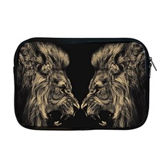 King Abstract Lion Painting Apple Macbook Pro 17  Zipper Case