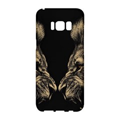 King Abstract Lion Painting Samsung Galaxy S8 Hardshell Case