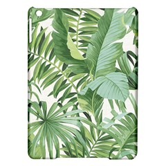 Green Palm Leaf Wallpaper Alfresco Palm Leaf Wallpaper Ipad Air Hardshell Cases by AnjaniArt