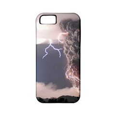 Lighting Flash Fire Wallpapers Apple Iphone 5 Classic Hardshell Case (pc+silicone) by AnjaniArt