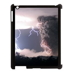 Lighting Flash Fire Wallpapers Apple Ipad 3/4 Case (black)