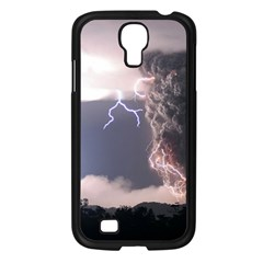 Lighting Flash Fire Wallpapers Samsung Galaxy S4 I9500/ I9505 Case (black)