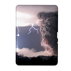 Lighting Flash Fire Wallpapers Samsung Galaxy Tab 2 (10 1 ) P5100 Hardshell Case  by AnjaniArt
