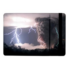 Lighting Flash Fire Wallpapers Samsung Galaxy Tab Pro 10 1  Flip Case