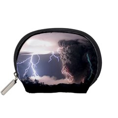 Lighting Flash Fire Wallpapers Accessory Pouch (small) by AnjaniArt