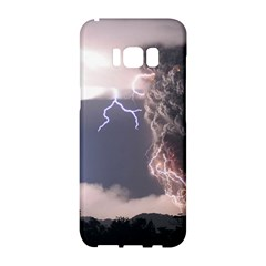 Lighting Flash Fire Wallpapers Samsung Galaxy S8 Hardshell Case  by AnjaniArt