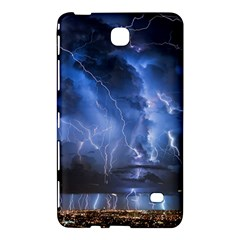 Lighting Flash Fire Wallpapers Night City Town Meteor Samsung Galaxy Tab 4 (8 ) Hardshell Case  by AnjaniArt