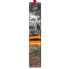 Lighting Strom Summer Star Sunset Sunrise Large Book Marks by AnjaniArt