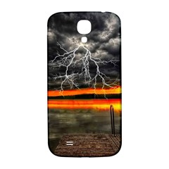 Lighting Strom Summer Star Sunset Sunrise Samsung Galaxy S4 I9500/i9505  Hardshell Back Case by AnjaniArt