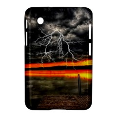 Lighting Strom Summer Star Sunset Sunrise Samsung Galaxy Tab 2 (7 ) P3100 Hardshell Case  by AnjaniArt