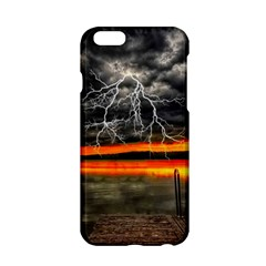 Lighting Strom Summer Star Sunset Sunrise Apple Iphone 6/6s Hardshell Case