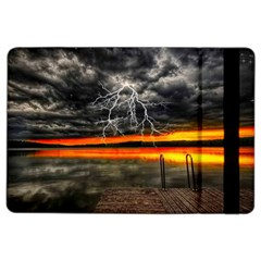 Lighting Strom Summer Star Sunset Sunrise Ipad Air 2 Flip by AnjaniArt