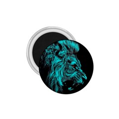 King Lion Wallpaper Jungle 1 75  Magnets by AnjaniArt