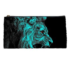 King Lion Wallpaper Jungle Pencil Cases