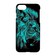 King Lion Wallpaper Jungle Apple Iphone 8 Hardshell Case by AnjaniArt