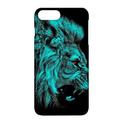 King Lion Wallpaper Jungle Apple Iphone 8 Plus Hardshell Case by AnjaniArt