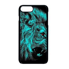 King Lion Wallpaper Jungle Apple Iphone 8 Plus Seamless Case (black) by AnjaniArt