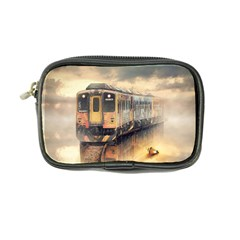 Manipulation Ghost Train Painting Coin Purse by AnjaniArt