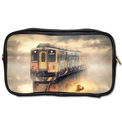 Manipulation Ghost Train Painting Toiletries Bag (two Sides) by AnjaniArt