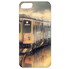 Manipulation Ghost Train Painting Apple Iphone 5 Classic Hardshell Case by AnjaniArt