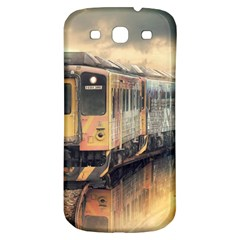 Manipulation Ghost Train Painting Samsung Galaxy S3 S Iii Classic Hardshell Back Case by AnjaniArt