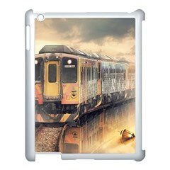 Manipulation Ghost Train Painting Apple Ipad 3/4 Case (white)