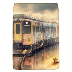 Manipulation Ghost Train Painting Removable Flap Cover (s) by AnjaniArt