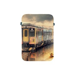 Manipulation Ghost Train Painting Apple Ipad Mini Protective Soft Cases by AnjaniArt