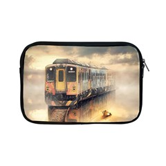Manipulation Ghost Train Painting Apple Ipad Mini Zipper Cases