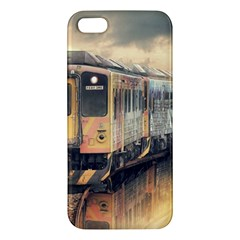 Manipulation Ghost Train Painting Iphone 5s/ Se Premium Hardshell Case