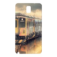 Manipulation Ghost Train Painting Samsung Galaxy Note 3 N9005 Hardshell Back Case by AnjaniArt