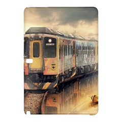 Manipulation Ghost Train Painting Samsung Galaxy Tab Pro 12 2 Hardshell Case