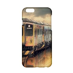 Manipulation Ghost Train Painting Apple Iphone 6/6s Hardshell Case by AnjaniArt