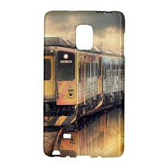 Manipulation Ghost Train Painting Samsung Galaxy Note Edge Hardshell Case by AnjaniArt