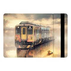 Manipulation Ghost Train Painting Apple Ipad Pro 10 5   Flip Case by AnjaniArt