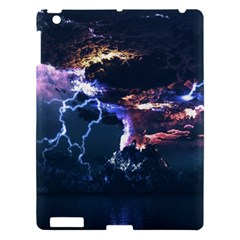 Lightning Volcano Manipulation Volcanic Eruption Apple Ipad 3/4 Hardshell Case by AnjaniArt